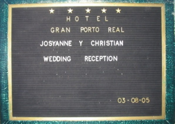 Josyanne & Christian's Wedding 2005